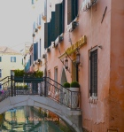 This is a lovely bridge that Erin and I crossed in Venice.  Wouldn't it be wonderful if all bridge crossing was so easy? ©2015 PeaceFullHome.com
