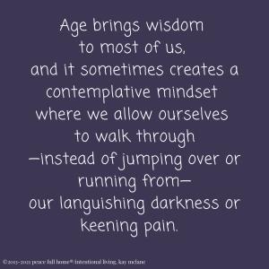 Mourning Wisdom